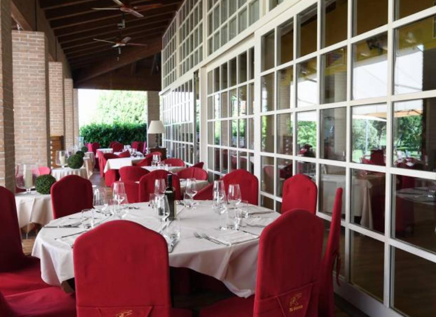 Il ristorante Al Bancut, presso il Golf Club Lignano