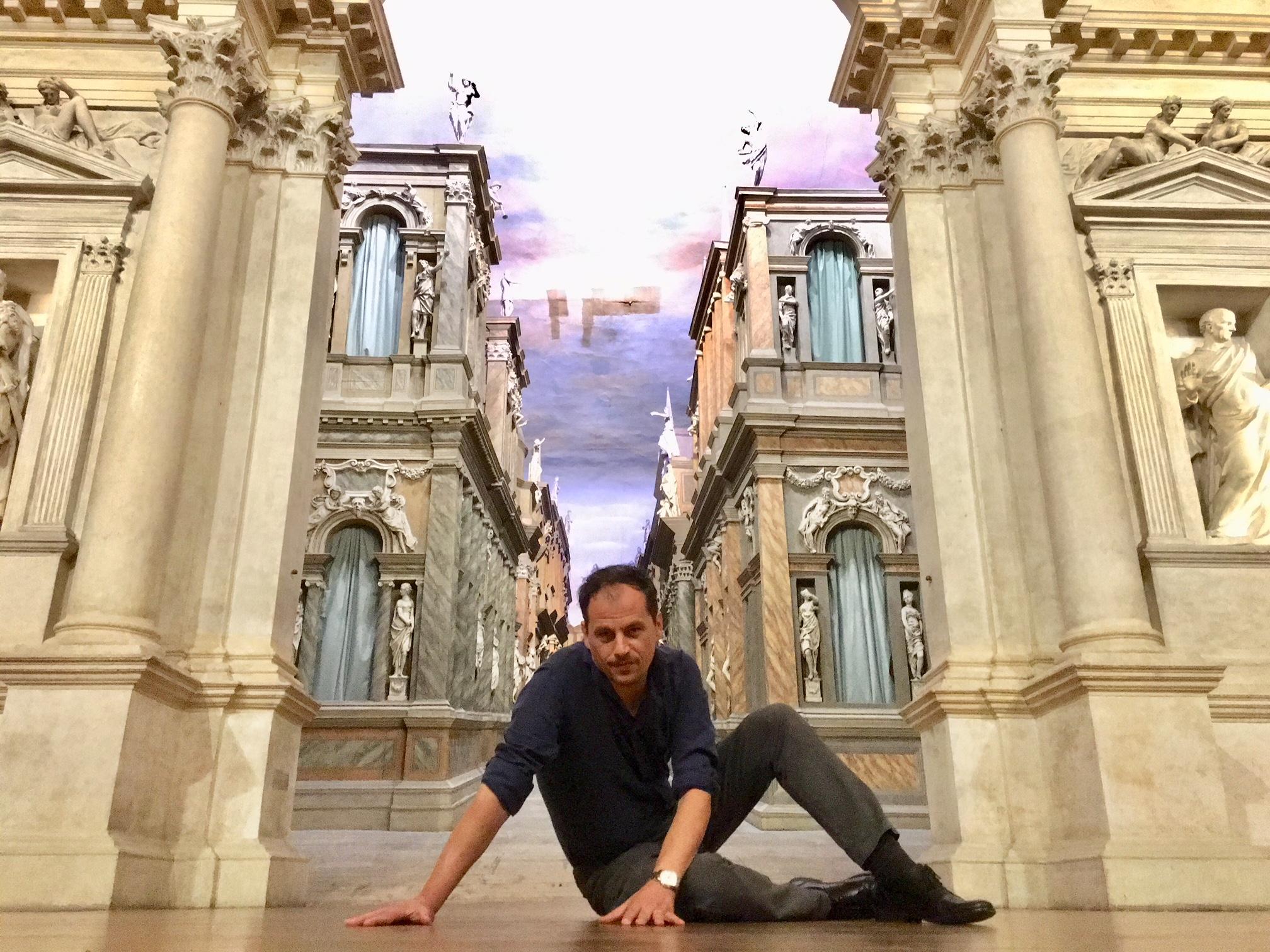 Giancarlo Marinelli, direttore artistico del Teatro Olimpico di Vicenza
