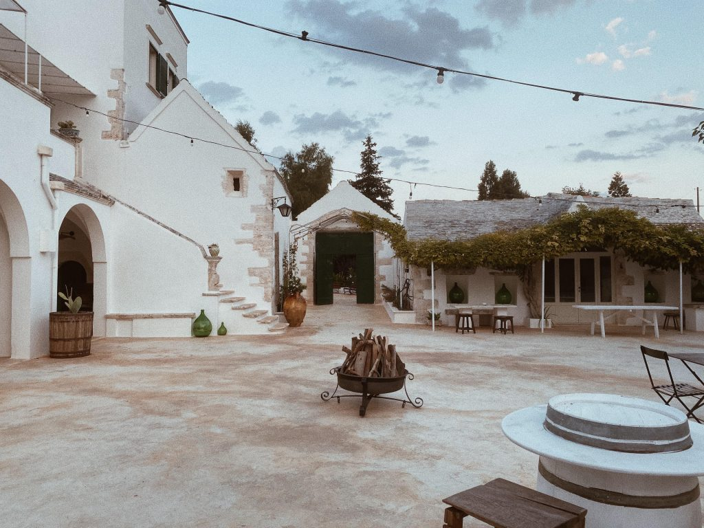 Courtyard Masseria San Michele